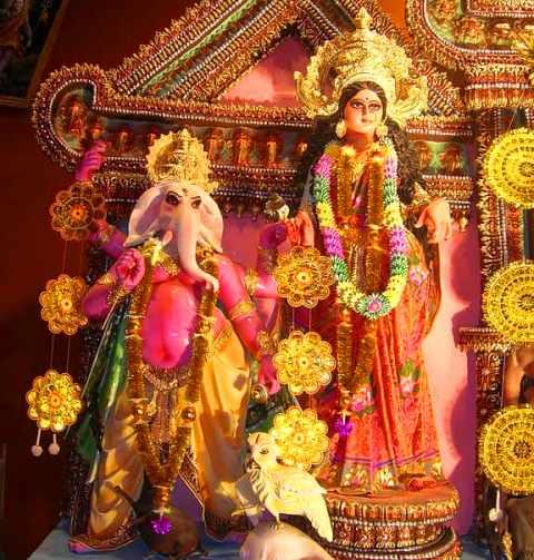 लक्ष्मी और गणेश पूजन