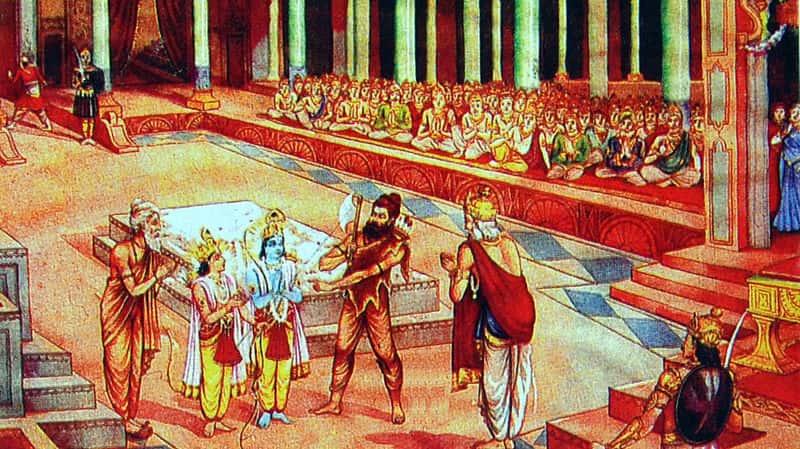 सीता राम स्वयंवर में भगवान परशुराम
